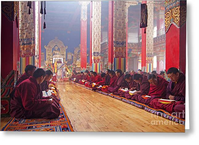 Recently Sold -  - Tibetan Buddhism Greeting Cards - 141220p194 Greeting Card by Arterra Picture Library