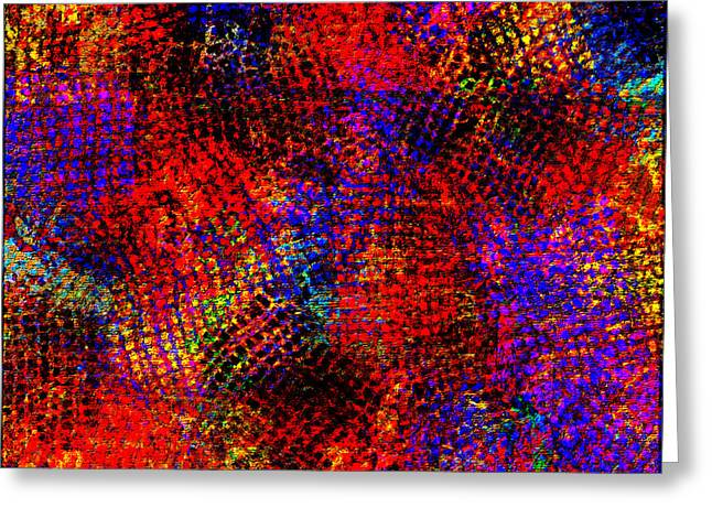 1432 Abstract Thought Greeting Card by Chowdary V Arikatla
