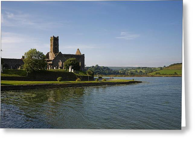 Franciscans Greeting Cards - 14th Century Timoleague Abbey Greeting Card by Panoramic Images