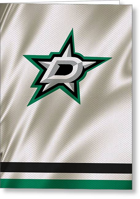 5 Star Greeting Cards - Dallas Stars Greeting Card by Joe Hamilton