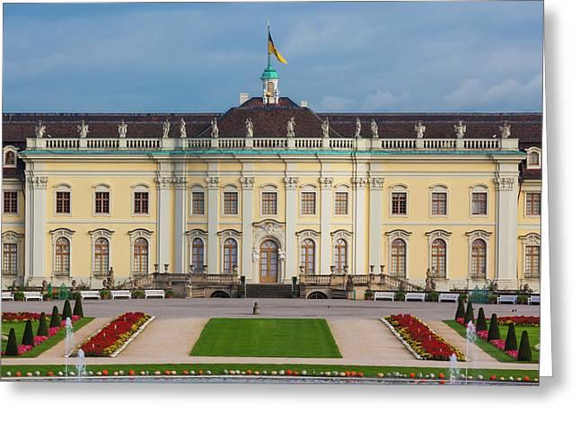 Germany, Baden-wurttemburg Greeting Card by Walter Bibikow