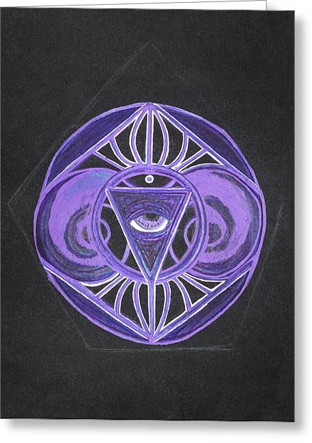 Sahasrara Greeting Cards - 15 Greeting Card by Jessica McLellan