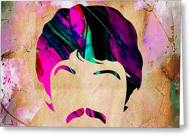 Paul Greeting Cards - Paul McCartney Collection Greeting Card by Marvin Blaine