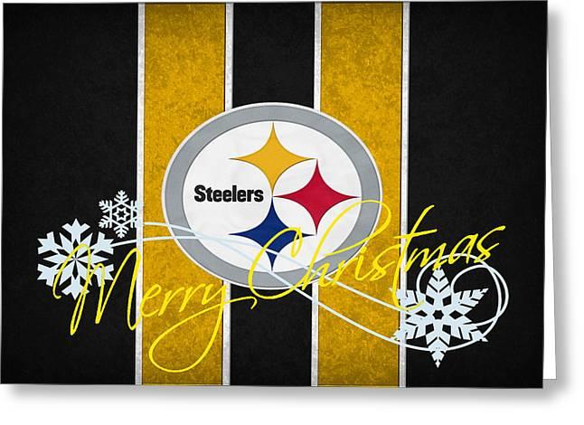 Pittsburgh Steelers Greeting Card by Joe Hamilton