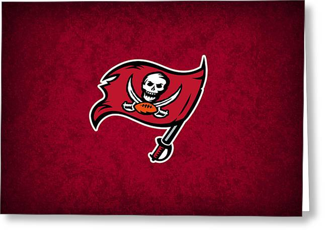 Tampa Greeting Cards - Tampa Bay Buccaneers Greeting Card by Joe Hamilton