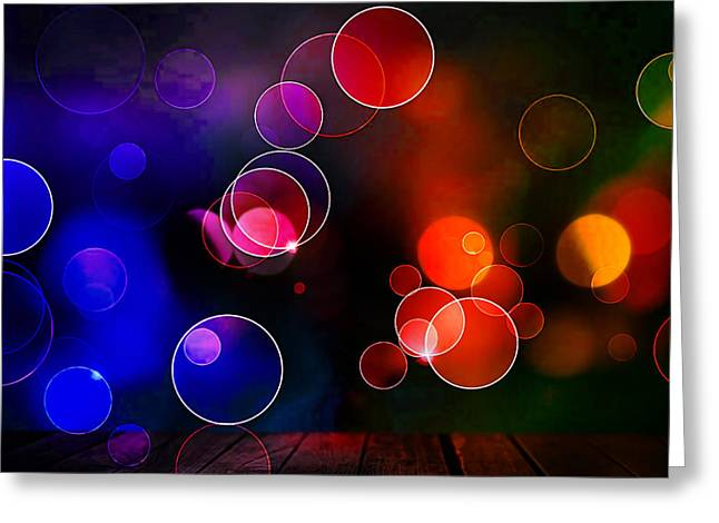 Backgrounds Greeting Cards - Wall Art Greeting Card by Marvin Blaine