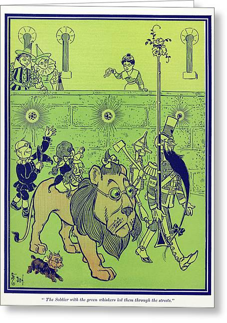 Wizard Of Oz, 1900 Greeting Card by Granger