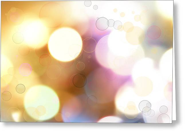 Space Image Greeting Cards - Abstract background Greeting Card by Les Cunliffe