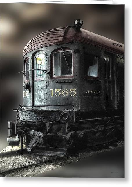 1565 Class B Irm Greeting Card by Thomas Woolworth