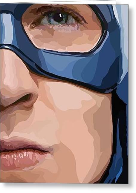 Avengers Digital Art Greeting Cards - 157. Get that kid a sandwich. Greeting Card by Tam Hazlewood