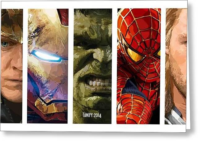 Thor Greeting Cards - 159. 2014 My Stan Lee. Greeting Card by Tam Hazlewood