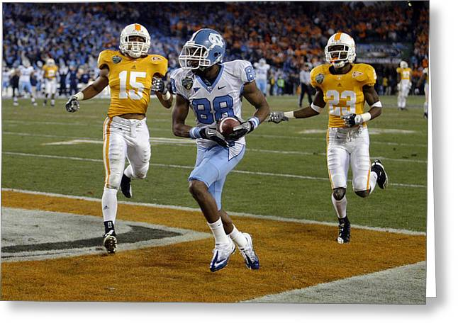 Sec Greeting Cards - 2010 Music City Bowl Greeting Card by Don Olea