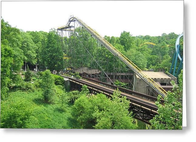 Busch Gardens - 12121 Greeting Card by DC Photographer