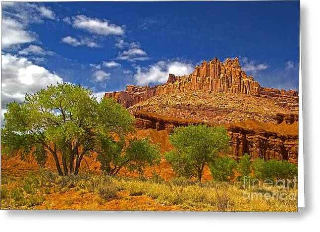 Beauty Mark Greeting Cards - Capitol Reef National  Park Cathedral Valley Greeting Card by Southern Utah  Photography