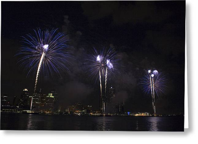 Fireworks Greeting Cards - Fireworks Greeting Card by Gary Marx