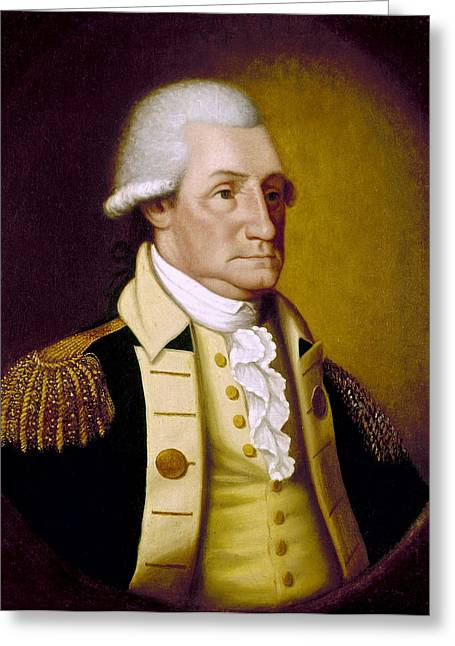 General Bradley Greeting Cards - George Washington Greeting Card by Granger