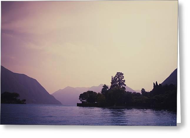 Lago Di Como Greeting Cards - Lago di Como Greeting Card by Roberto Adrian