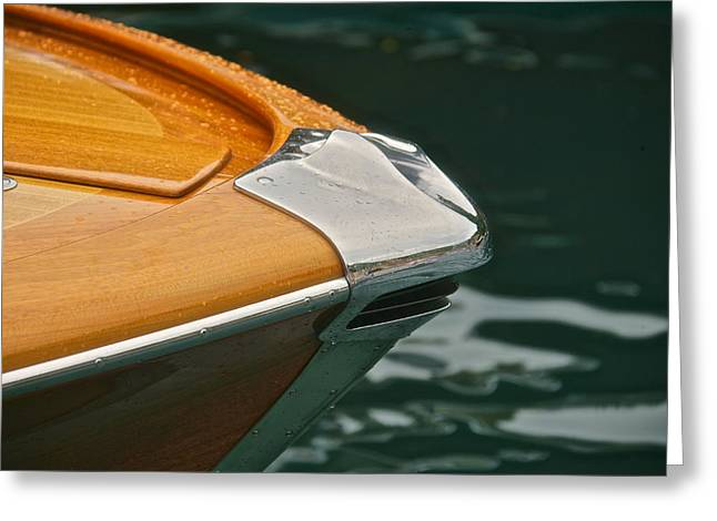 Portofino Italy Greeting Cards - Magnificent Mahogany Greeting Card by Steven Lapkin