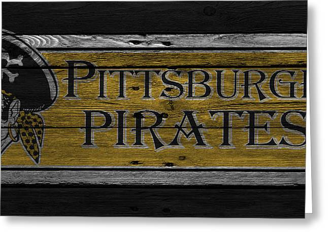 Pittsburgh Pirates Greeting Cards - Pittsburgh Pirates Greeting Card by Joe Hamilton