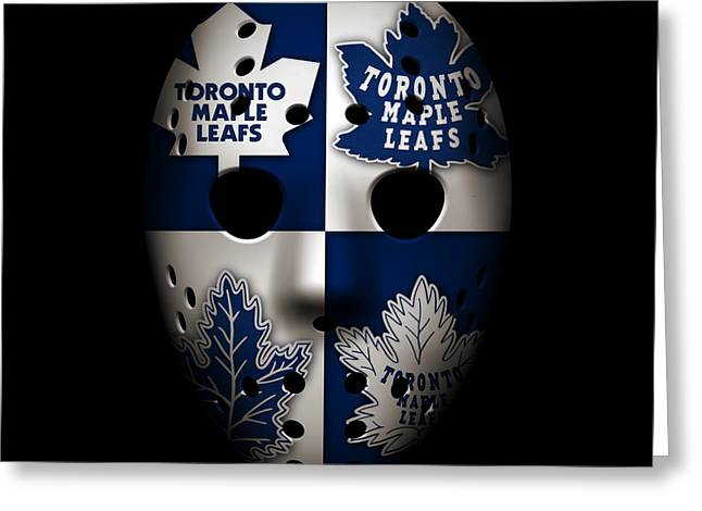 Maple Leafs Captain Greeting Cards - Toronto Maple Leafs Greeting Card by Joe Hamilton
