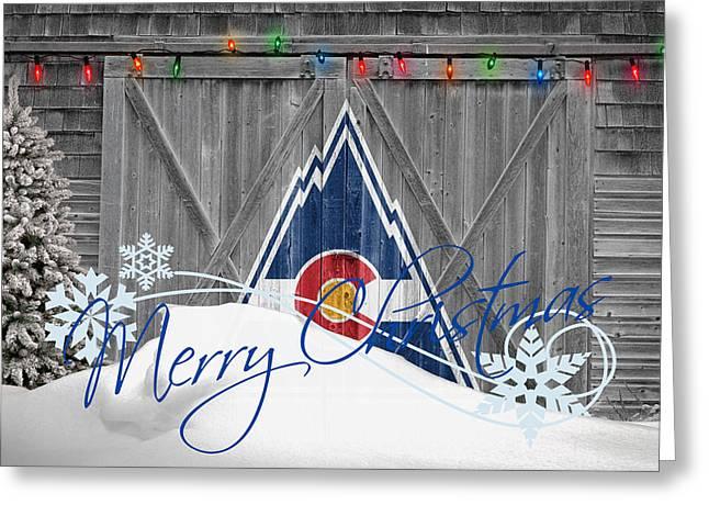 Rockies Greeting Cards - Colorado Rockies Greeting Card by Joe Hamilton