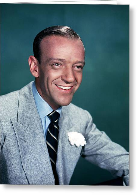 Astaire Greeting Cards - Fred Astaire Greeting Card by Silver Screen