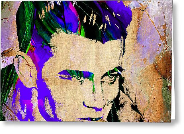 Dean Greeting Cards - James Dean Collection Greeting Card by Marvin Blaine