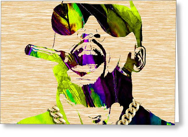 Rapper Greeting Cards - Kanye West Collection Greeting Card by Marvin Blaine