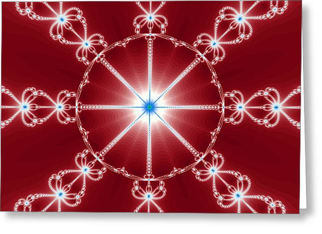 Hallucination Greeting Cards - The magic fractal Greeting Card by Odon Czintos