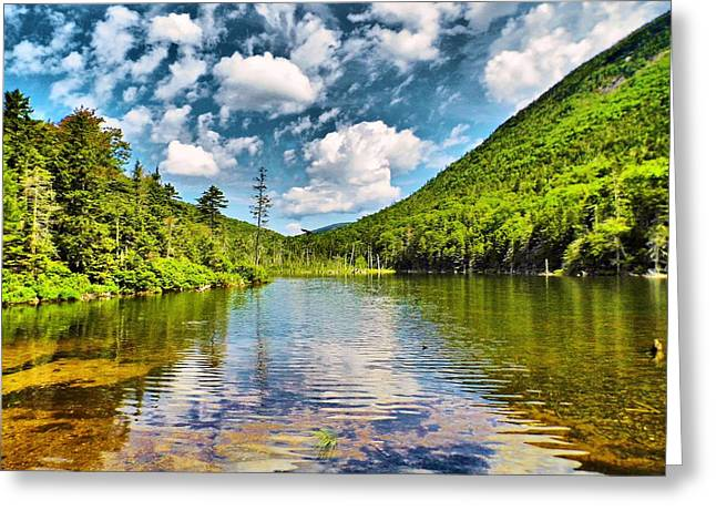 Greeley Greeting Cards - 1716 Lower Greeley Pond  Greeting Card by Naturally NH