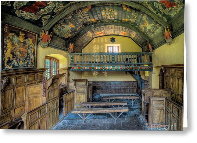 Firmament Greeting Cards - 17th Century Chapel Greeting Card by Adrian Evans