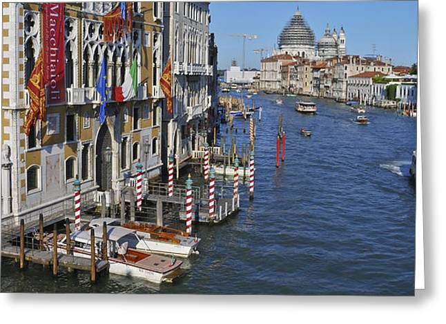 Venice Pyrography Greeting Cards - Venize Greeting Card by Wug