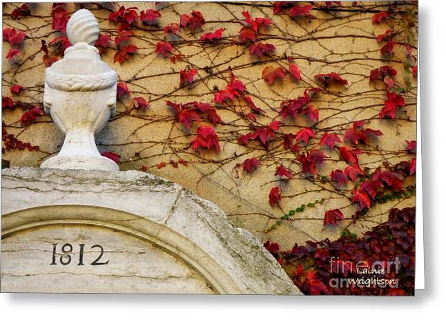 Lainie Wrightson Greeting Cards - 1812 Fountain Greeting Card by Lainie Wrightson