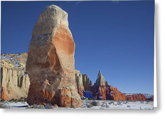 Southern Utah Greeting Cards - Kodachrome Basin Greeting Card by Mark Smith