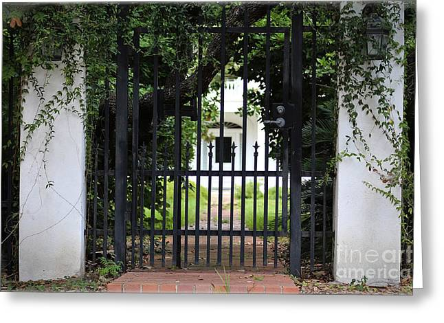 Slavery Digital Art Greeting Cards - 1851 Phillips House Mansion Greeting Card by Ella Kaye Dickey