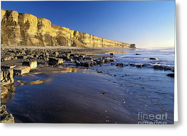 Vale Greeting Cards - Glamorgan Heritage Coast Greeting Card by Graham Bell