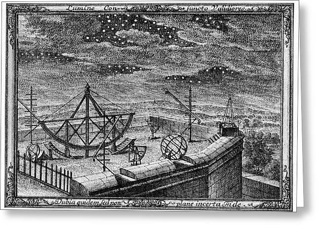 18th Century Observatory Greeting Card by Cci Archives