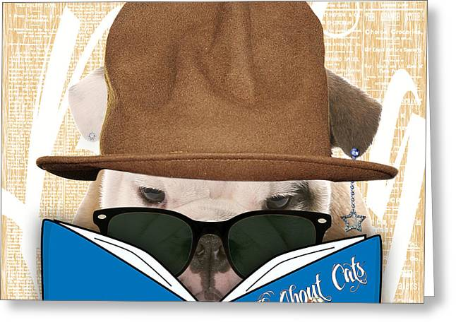 Dog Greeting Cards - Bulldog Collection Greeting Card by Marvin Blaine