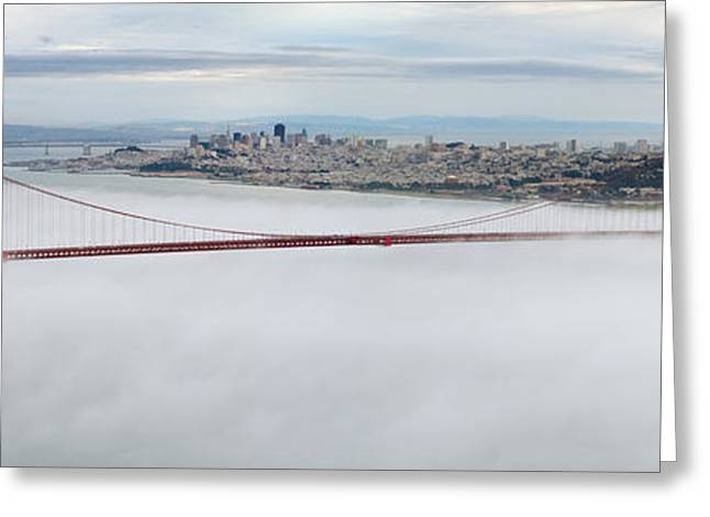 Fod Greeting Cards - Golden Gate Bridge Greeting Card by Mariusz Blach