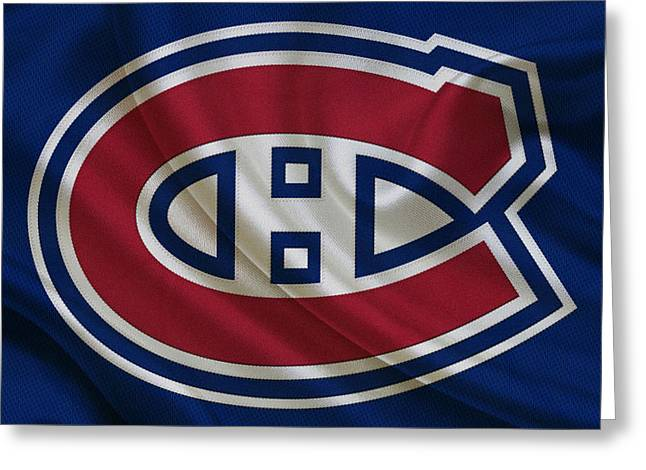 Cup Greeting Cards - Montreal Canadiens Greeting Card by Joe Hamilton