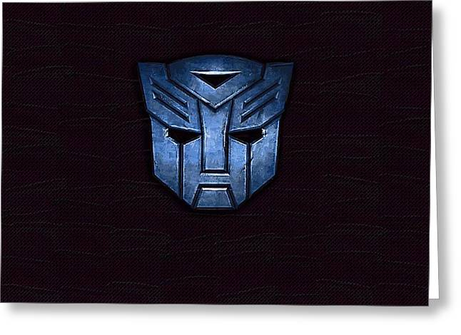 Transformer Greeting Cards - Transformers Movie Greeting Card by Victor Gladkiy