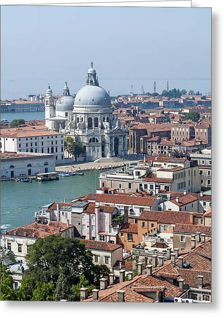 Medieval Temple Greeting Cards - Venice. Italy. Greeting Card by Fernando Barozza
