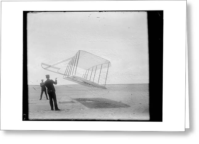 Aviation Greeting Cards - 1901 Wright Brothers Glider Greeting Card by MMG Archives