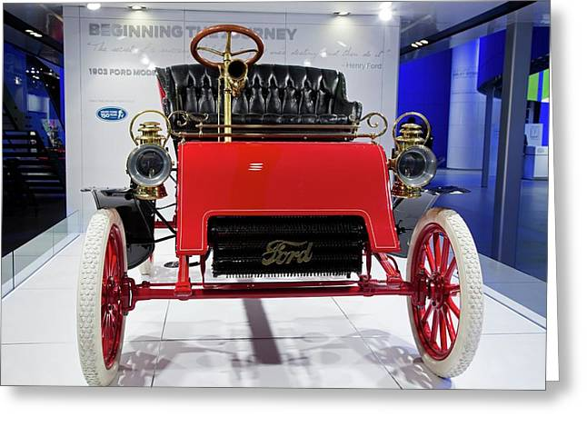 1903 Ford Model A Greeting Card by Jim West