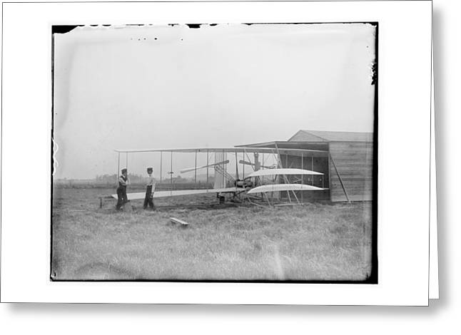 Pilot Greeting Cards - 1904 Wilbur and Orville Wright Greeting Card by MMG Archives