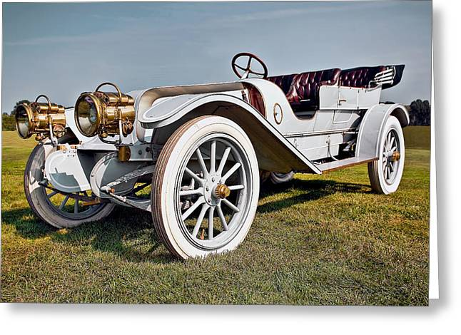 1910 Franklin Type H Touring Greeting Card by Marcia Colelli