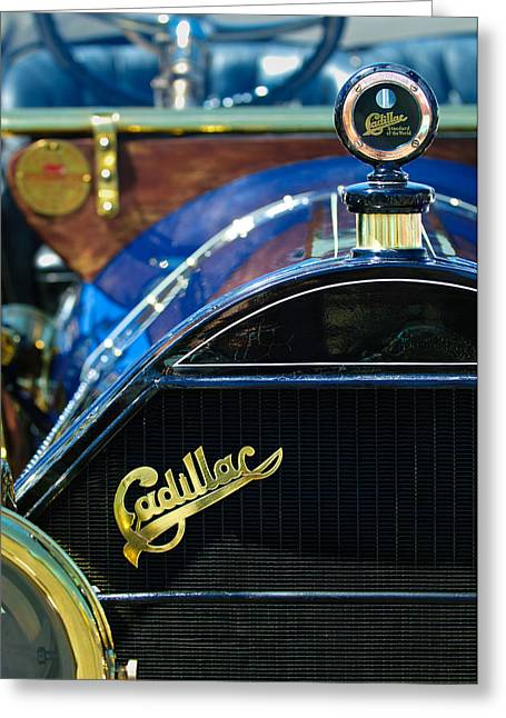 1911 Cadillac Roadster Greeting Card by Jill Reger