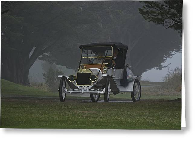 Ford Model T Car Greeting Cards - 1911 Ford Model T I Greeting Card by Dave Koontz