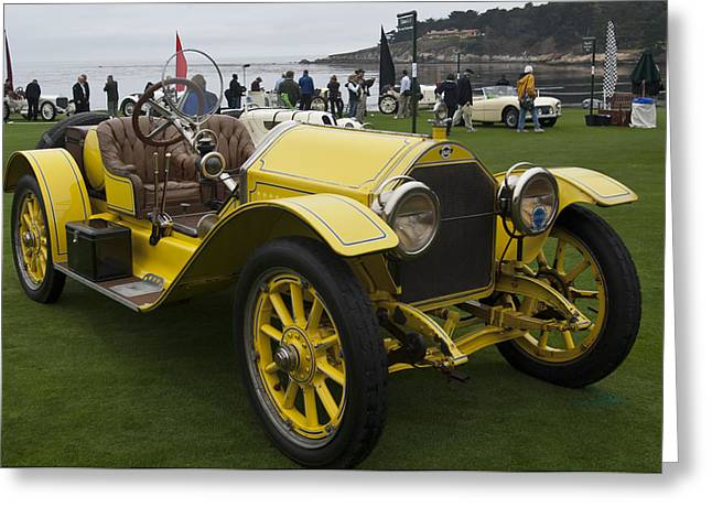 Car Show Photography Greeting Cards - 1914 Stutz Series E Bearcat Greeting Card by Jill Reger