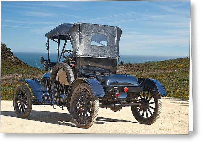 Ford Model T Car Greeting Cards - 1915 Ford Model T Roadster VI Greeting Card by Dave Koontz